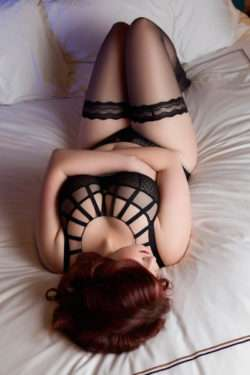 Chrissie Gordon The London Curvy Redhead Escort